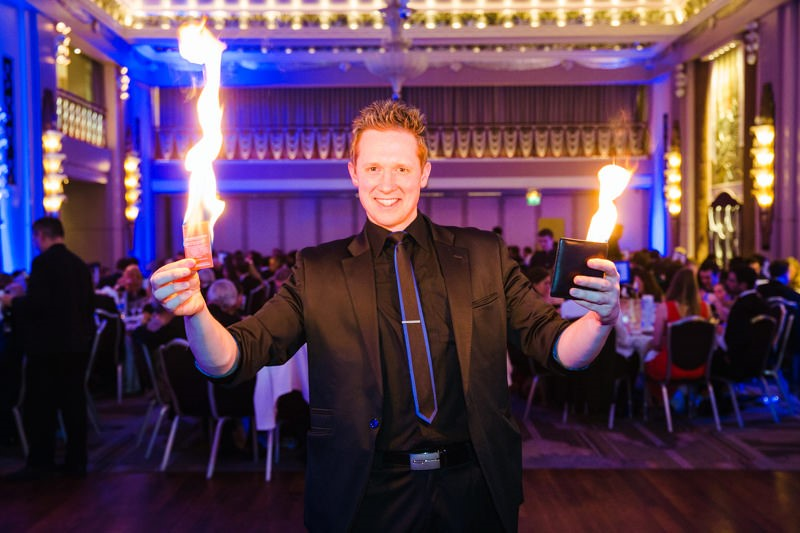 Martin John Magician London performing at The Ritz, London